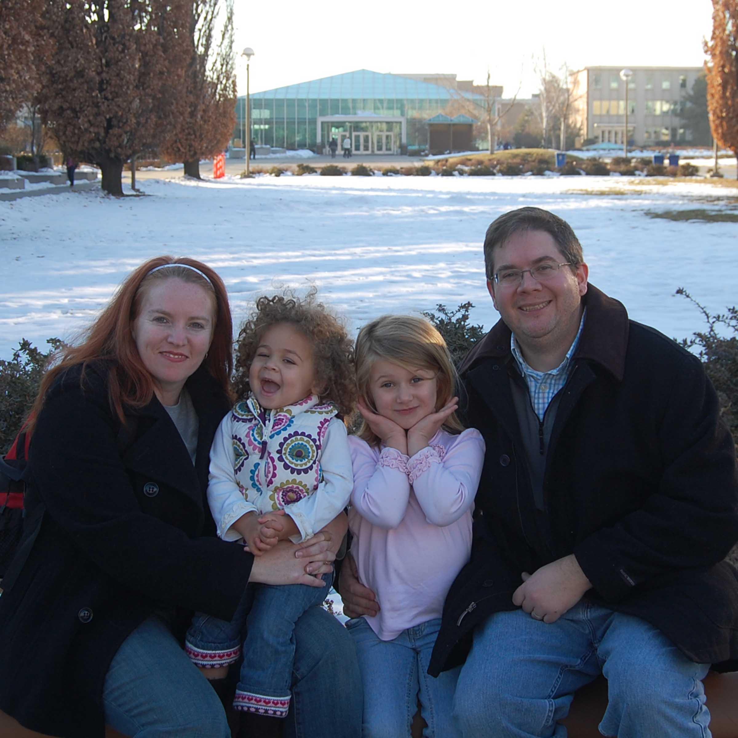 Family at BYU